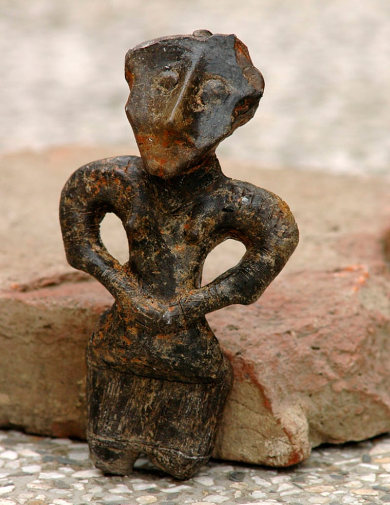 Image: A Neolithic figurine