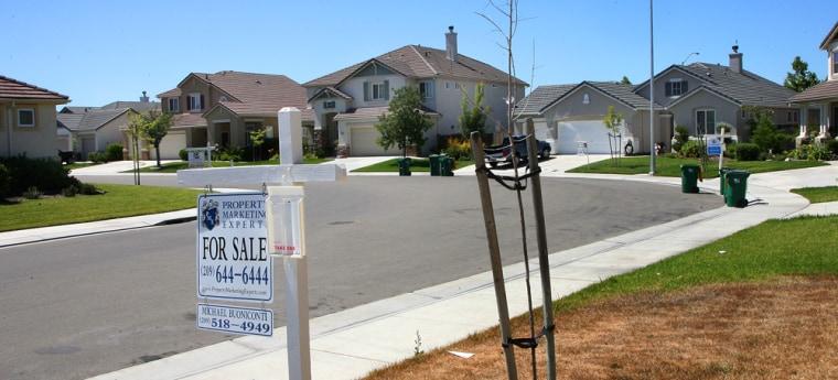 Image: Foreclosures in California