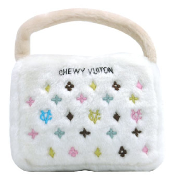 Louis Vuitton sued the maker of 'Chewy Vuiton' dog toys arguing they could cause confusion.