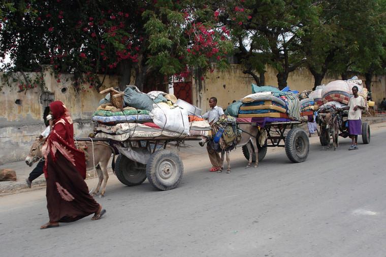 Somalis Leave