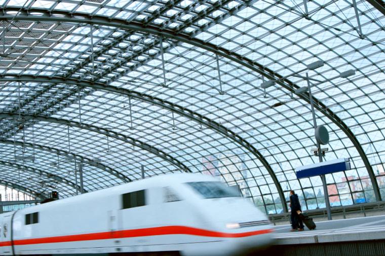Image: Fastest trains