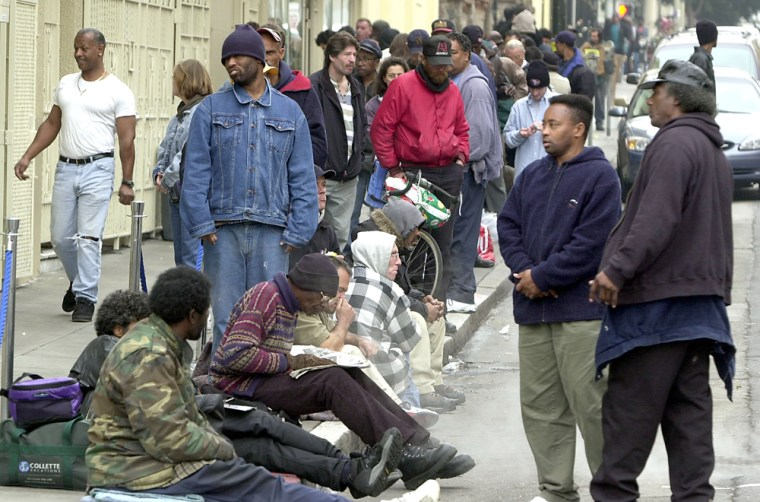 Image: Homelessness On The Rise In San Francisco