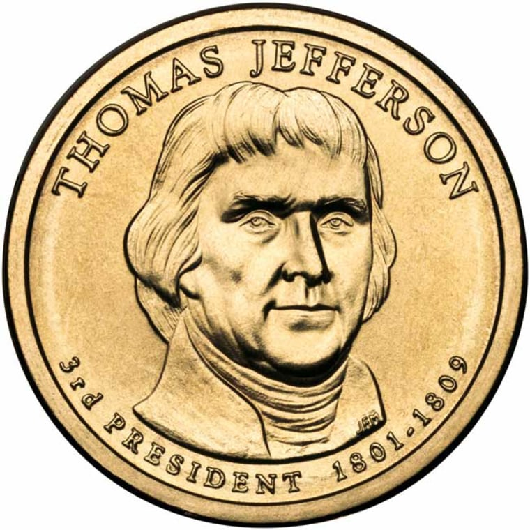 Image: Jefferson coin