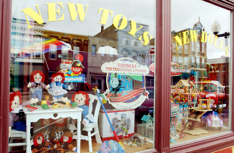 Image: Second Childhood Toys, Recalled toys, toy store business