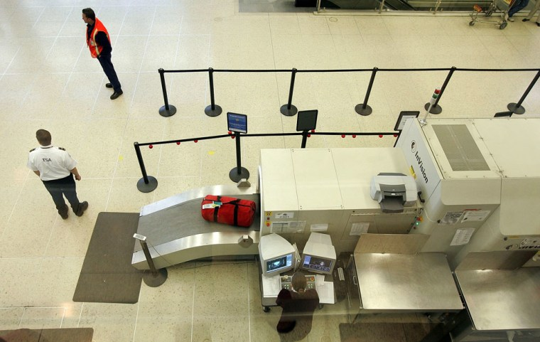 Image: TSA Explosive Detection System