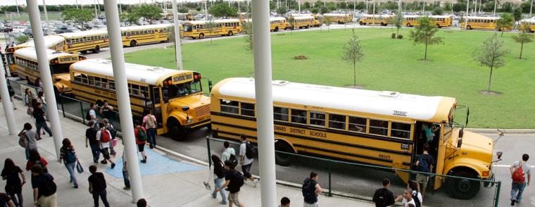 Image: School buses