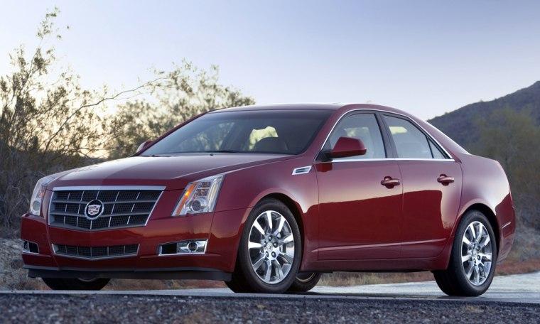 Image: 2008 Cadillac CTS