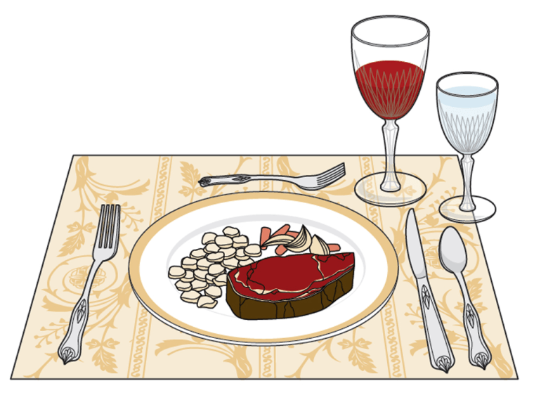 Image: Table setting