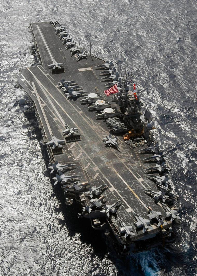 Image: USS Kitty Hawk.