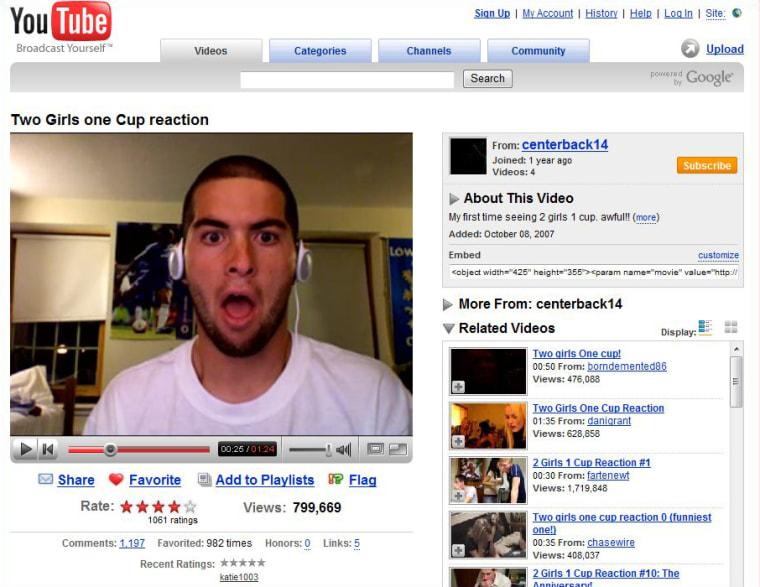 Image: YouTube screen