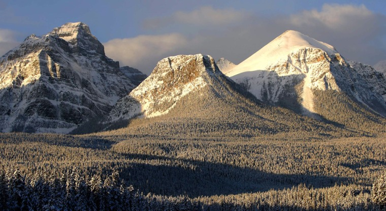 Image: The Canadian Rockies in the Banff National Park
