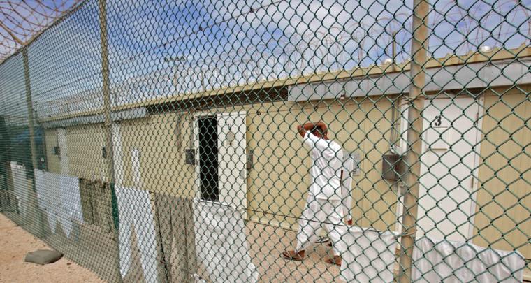 Image: Guanatamco Bay U.S. Naval Base in Cuba.
