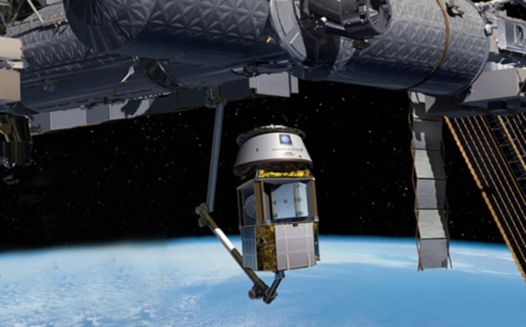 Image: Cargo delivery at Space Station