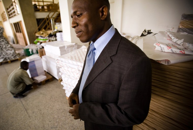 Image: he founder and CEO of Type Company Ltd., Coby Asmah