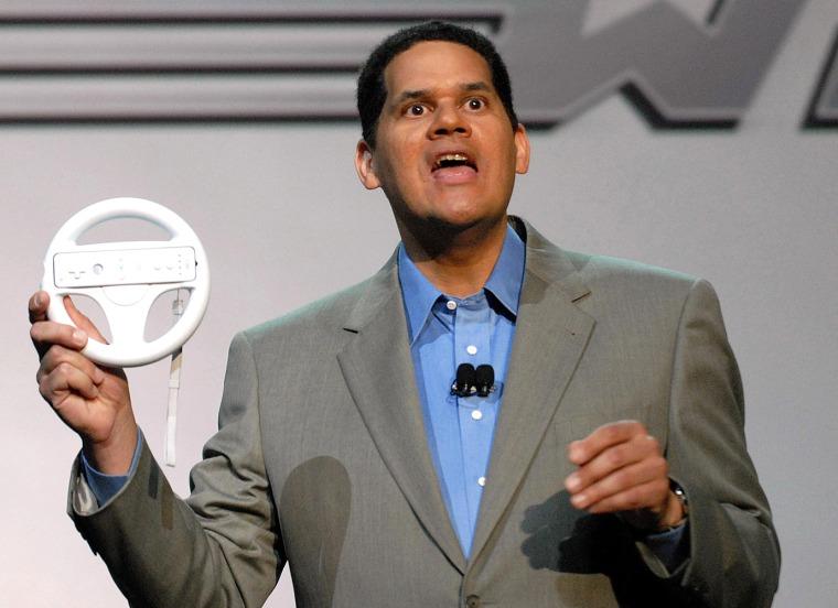 Image: Nintendo of America President Reggie Fils-Aime