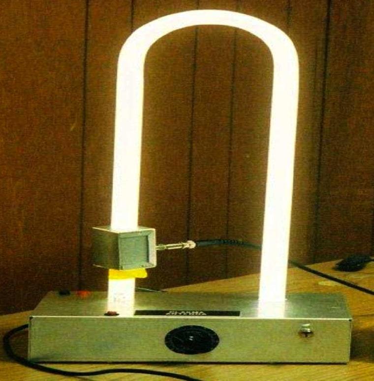 Image: Prototype plasma antenna