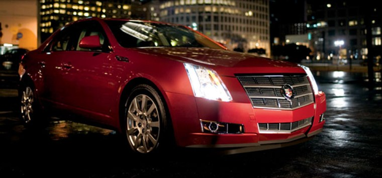 The 2008 new Cadillac CTS aims to make a statement for the General Motors brand.