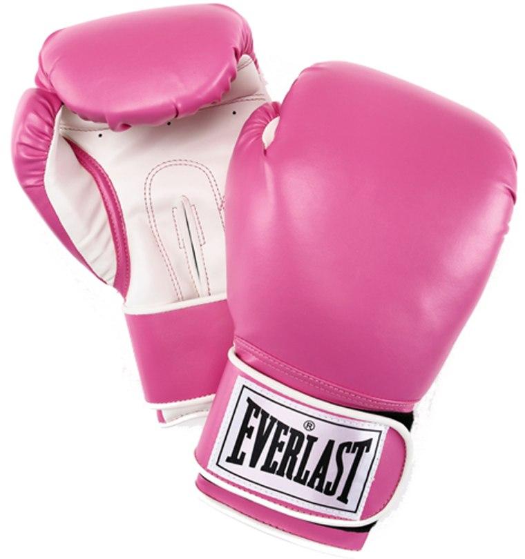 Image: Everlast boxing gloves, pink