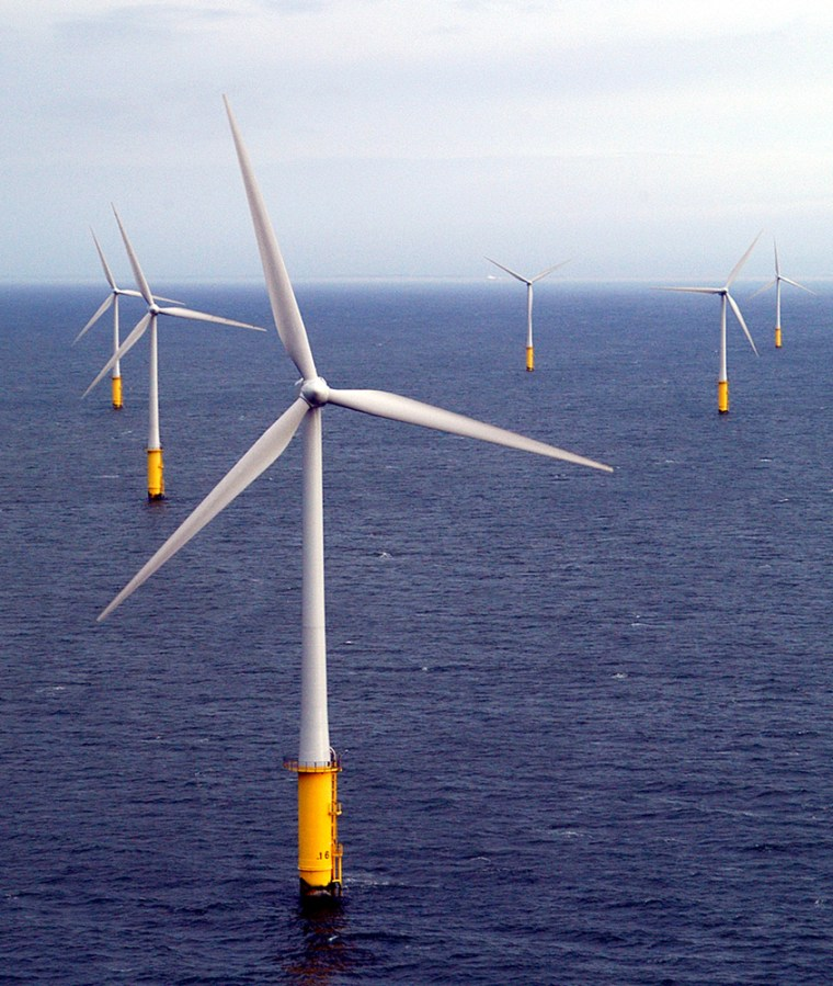 Image: Offshore wind turbines