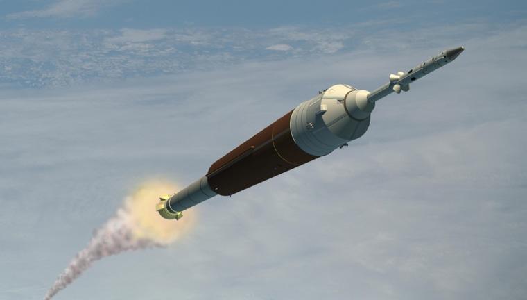 Image: Ares rocket.