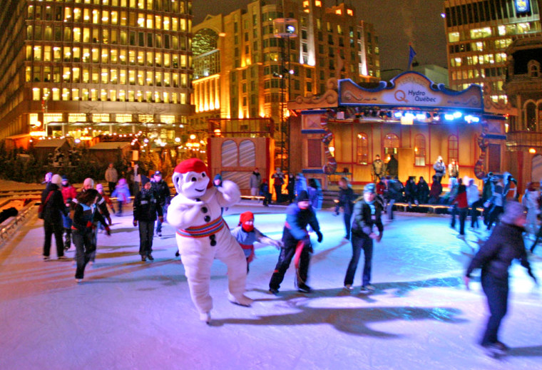 The Winter Carnival in Quebec, Canada, runs from February 1-17, 2008.