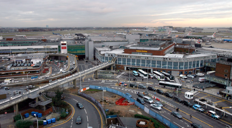 Image: View of Heathrow airport in London