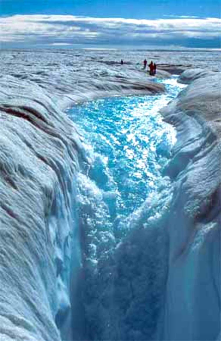 Image: ice flow