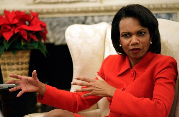 Image: Condoleezza Rice,