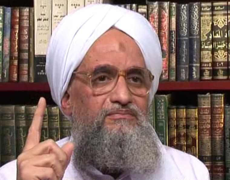 Image: Ayman al-Zawahri, Osama bin Laden's deput