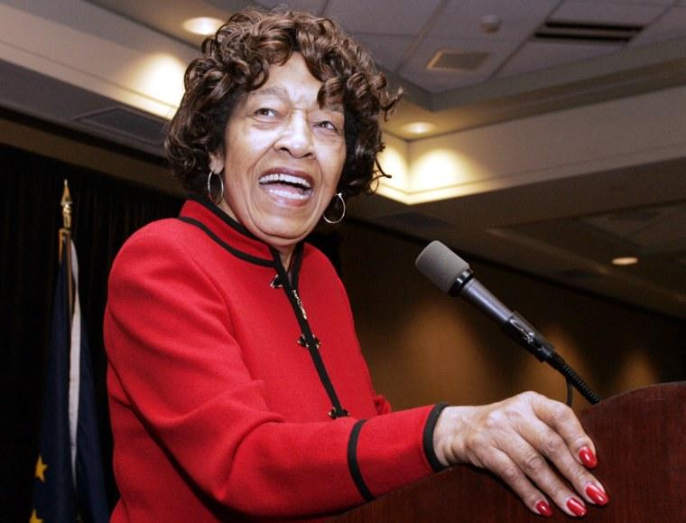 Image: Democrat incumbent Rep. Julia Carson.