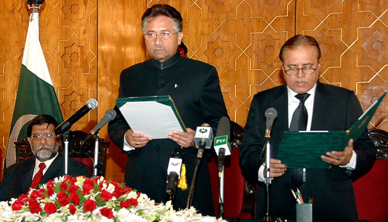 Image: President Pervez Musharraf.