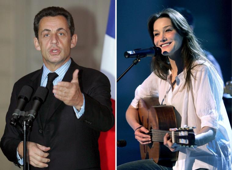 French media report new relationship of Nicolas Sarkozy