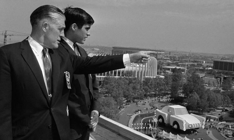 Image: George Romney, Mitt romney