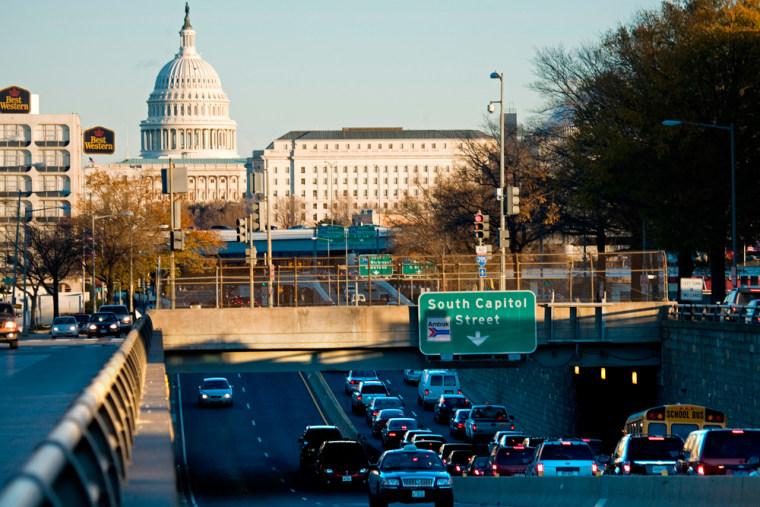 Image: M Street SW overpass in Washington, DC