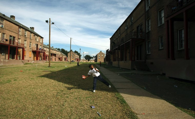 New Orleans Housing Projects Face Demolition