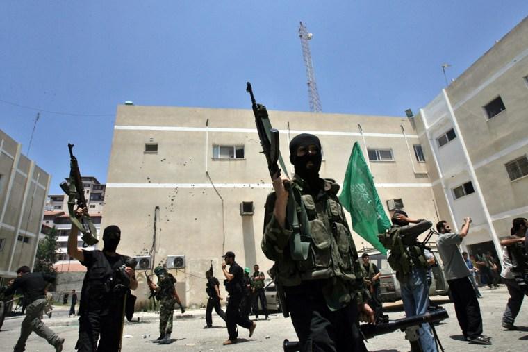 Militant of the Islamic movement Hamas