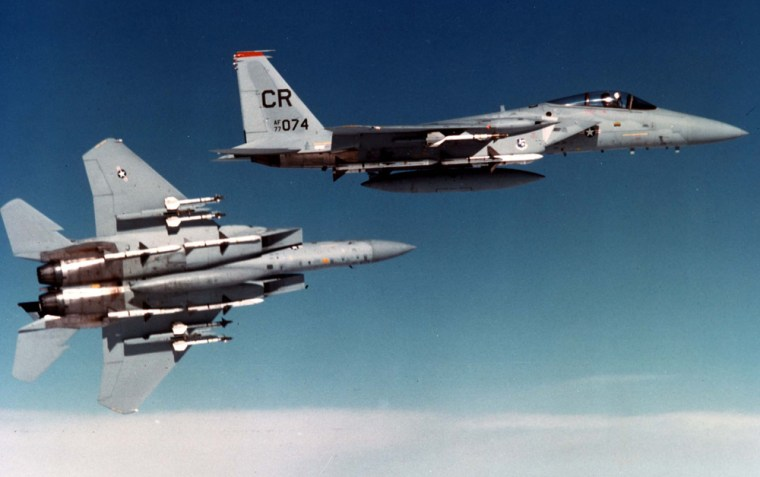 Image: The F-15A