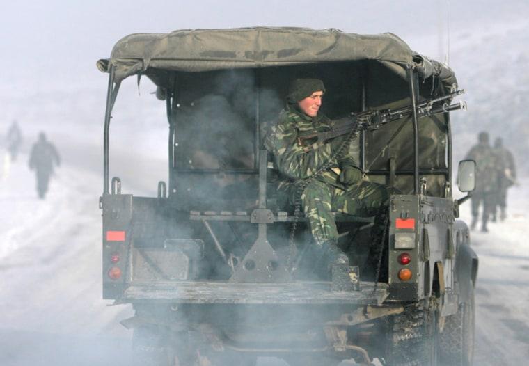 Image: Turkish soldiers