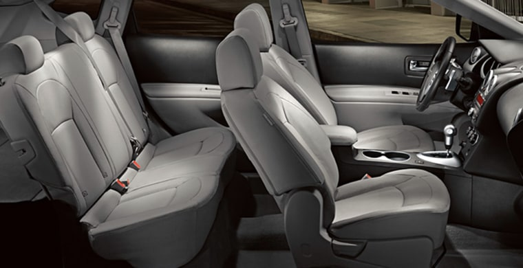 Image:  Interior of a Nissan Rogue