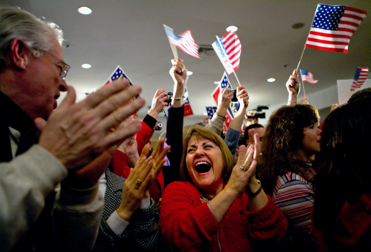Image: Mike Huckabee supporters