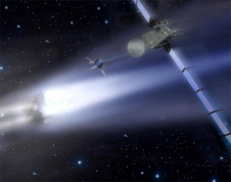 Image: Comet-probing Rosetta spacecraft