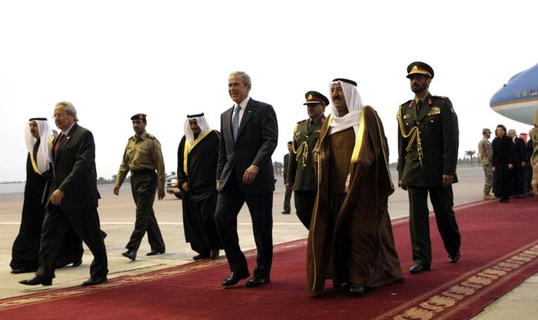 George W. Bush, Amir of Kuwait Sabah al-Ahmed al-Sabah