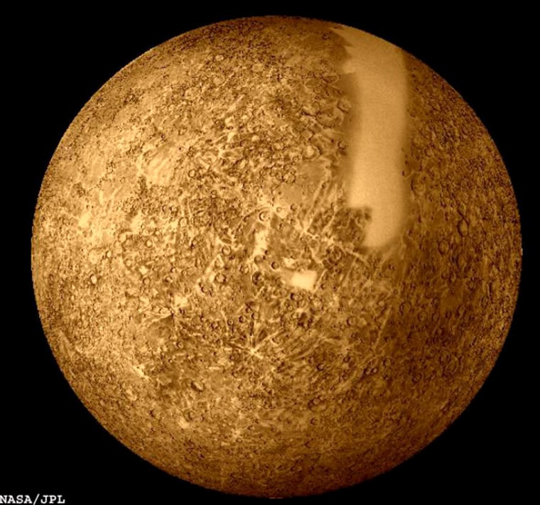 Mercury, the solar system's most inner planet, still hides many secrets NASA hopes to solve with Messenger.