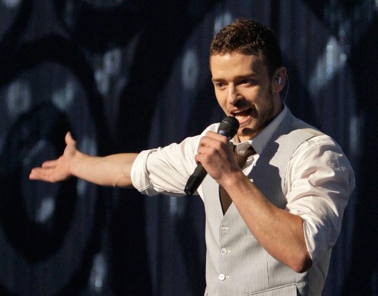 Image: Justin Timberlake