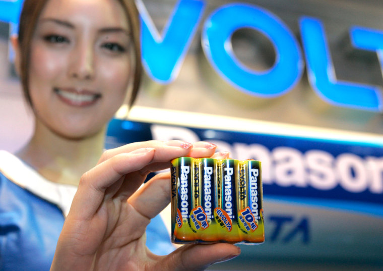 Image: Panasonic batteries
