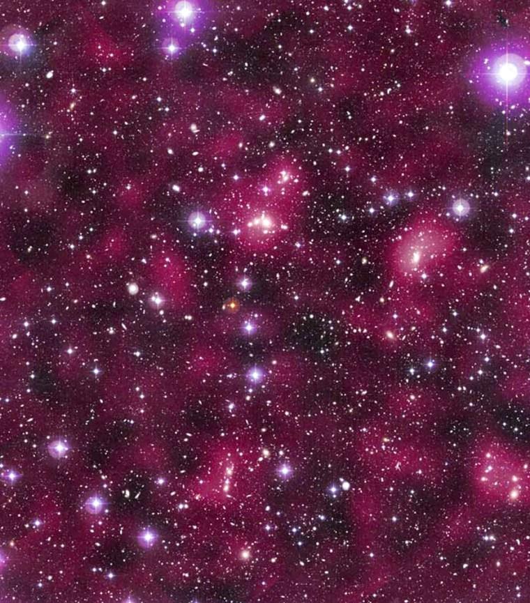 Image: Dark Matter Distribution in Supercluster Abell 901/902