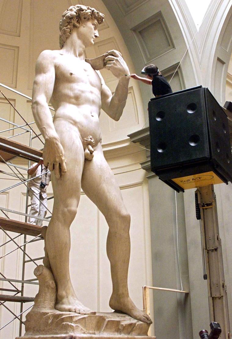 image: Michelangelo's David