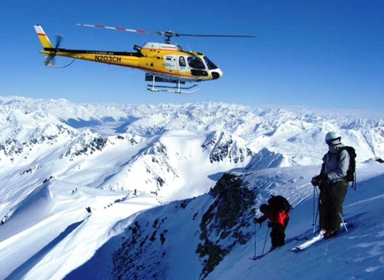 Image: Juneau, Alaska-based Eurocopter AS350BA is used to carry up to six people