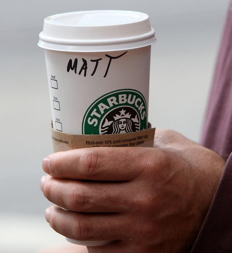 Image: Starbucks coffee cup