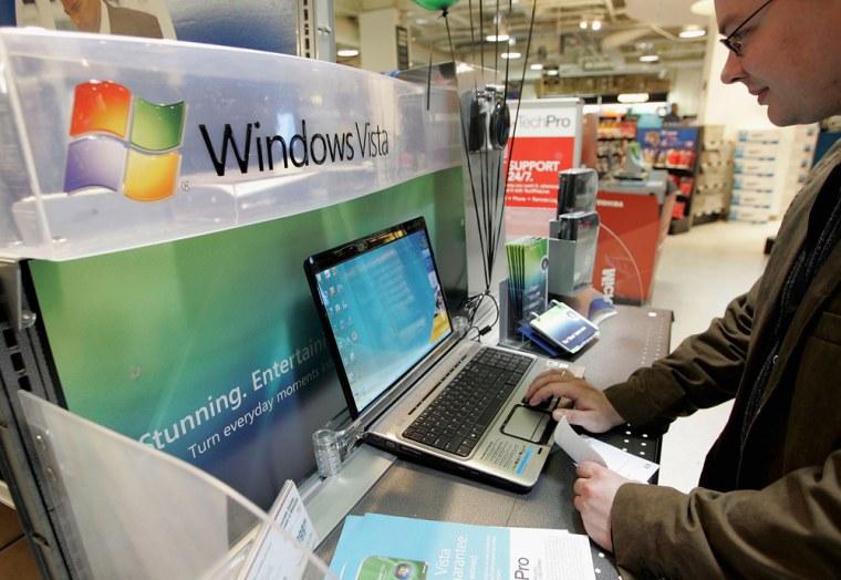 Image: Microsoft Vista Operating System